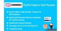 Paypal woocommerce payment split adaptive