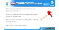 Pdf woocommerce plugin wordpress vouchers
