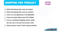 Per shipping product