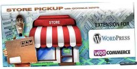 Store pickup google maps wordpress woocommerce