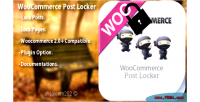 Post woocommerce locker