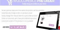 Pre woocommerce orders