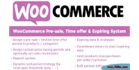 Pre woocommerce sale system time expiring offer