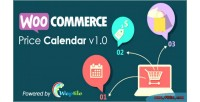 Price woocommerce calendar