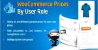 Prices woocommerce role user by