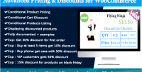 Pricing advanced woocommerce for discounts
