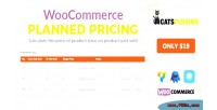 Pricing planned for woocommerce calculate price the base on sold unit product