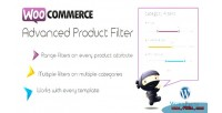 Product advanced woocommerce for filters