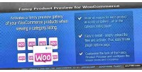 Product fancy woocommerce for preview