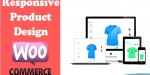 Product responsive woocommerce for designer