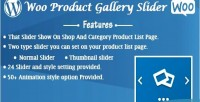 Product woo gallery slider