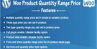 Product woo price range quantity