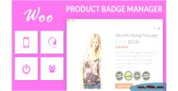 Product woocommerce badge manager