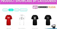 Product woocommerce categories by showcase