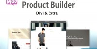 Product woocommerce divi for builder