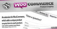 Product woocommerce enquiry