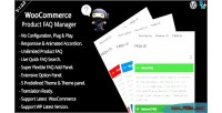 Product woocommerce faq manager