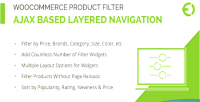 Product woocommerce filter navigation layered ajax
