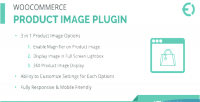 Product woocommerce image zoom magnifier plugin zoom click hover on