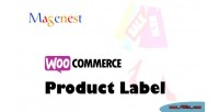 Product woocommerce label