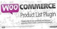 Product woocommerce listing