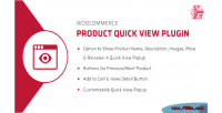 Product woocommerce plugin view quick