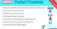 Product woocommerce promotion reminder
