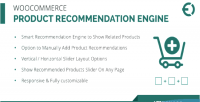Product woocommerce recommendation plugin wordpress engine