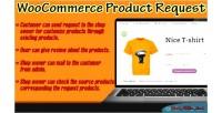 Product woocommerce request plugin