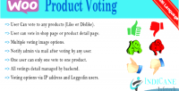 Product woocommerce voting