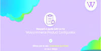 Products visual configurator addon request quote a