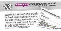 Products wc widget category by
