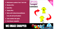 Products woocommerce image swapper