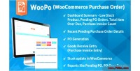 Purchase woocommerce order system po