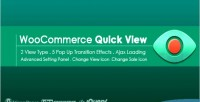 Quick advanced woocommerce for view
