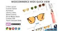 Quick wide view woocommerce