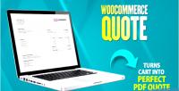 Quote woocommerce