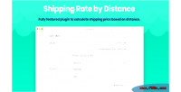 Rate shipping by woocommerce for distance