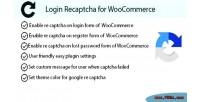 Recaptcha login for woocommerce