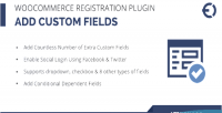 Registration woocommerce plugin fields add registration custom