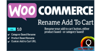 Rename woocommerce cart to add
