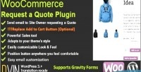 Request woocommerce a quote