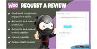 Request woocommerce a review