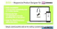 Responsive dizzi product woocommerc for designer