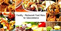 Restaurant foodify food woocommerce for menu