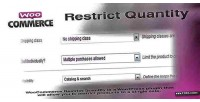 Restrict woocommerce quantity