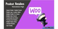 Retailers product plugin wordpress woocommerce
