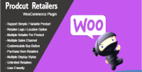 Retailers product plugin wordpress woocommerce