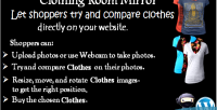 Room clothing mirror plugin woocommerce