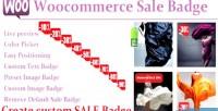 Sale woocommerce badge